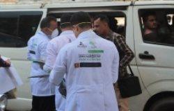 Sheikh Hammoud Said Al-Mekhlafi Foundation's COVID-19 surveillance team
