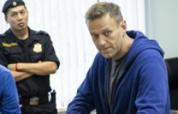 Navalny in Blue Sweatshirt