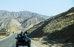 Afghan Security Forces Departing