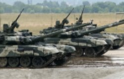 Image of a main Russia battle tank