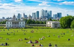 Greenwich park in south-east London