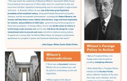 Wilson Memo: Woodrow Wilson 100 Years Later
