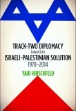 Track-Two Diplomacy toward an Israeli-Palestinian Solution, 1978–2014 by Yair Hirschfeld